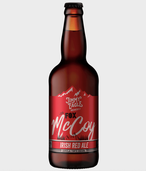 Jimmy Eagle Cerveja Fox McCoy Irish Red Ale 500ml