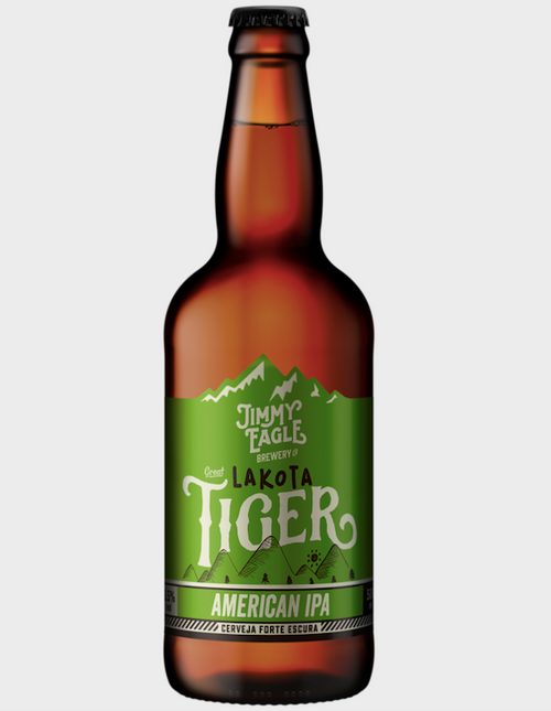 Jimmy Eagle Cerveja LAKOTA TIGER American IPA 500ml