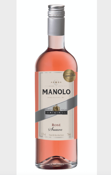Peterlongo Manolo Vinho de Mesa Rosé Suave 750ml
