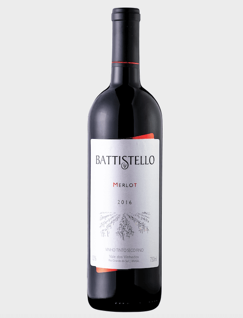 Battistello Vinho Tinto Merlot 750ml