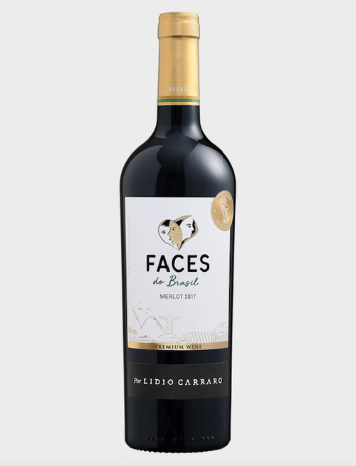 Lídio Carraro Faces do Brasil Merlot Vinho 750 ml