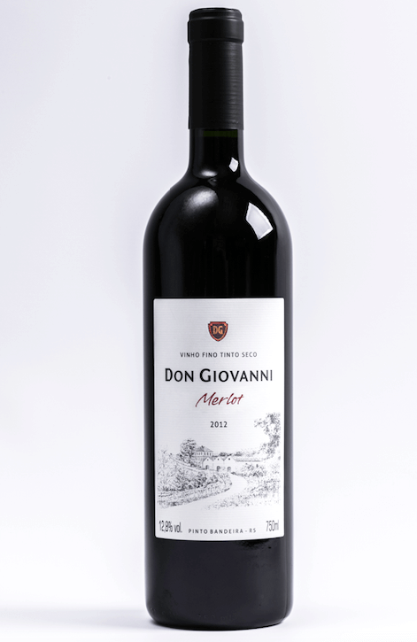 Don Giovanni Vinho Tinto  Merlot 750mL
