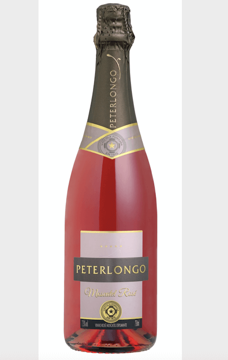 Peterlongo Espumante Moscatel Rose 750ml