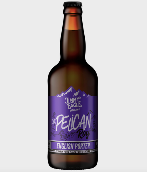 Jimmy Eagle Cerveja PELICAN ROY English Porter 500ml