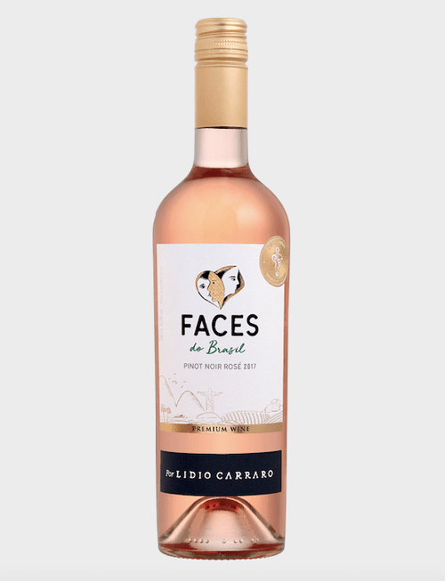 Lídio Carraro Faces do Brasil Pinot Noir Rosé Vinho 750 ml