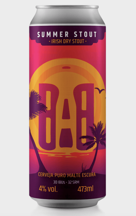 Babel Summer Stout Cerveja Lata 473 ml