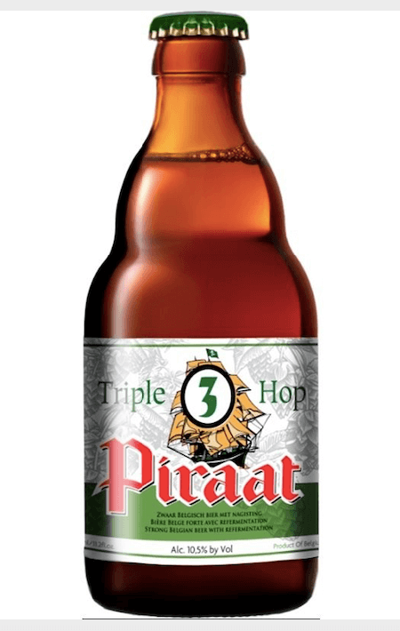 Piraat Triple Hop Belgian Golden Strong Ale Cerveja 330 ml