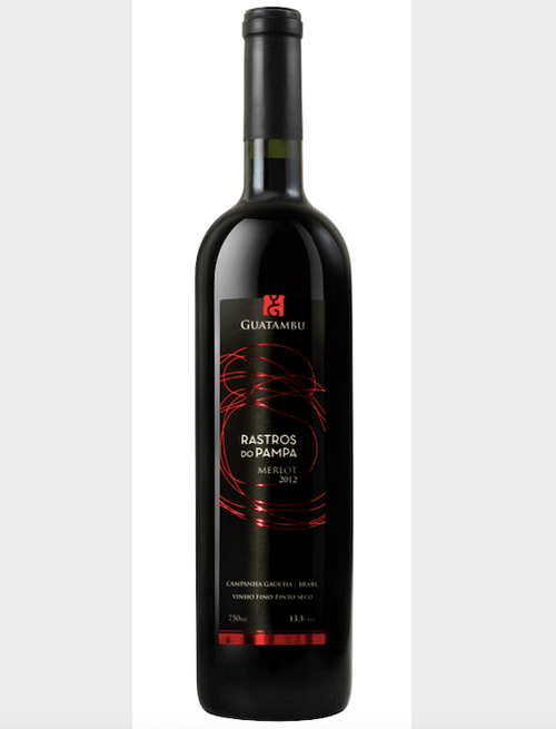 Vinho Rastros do Pampa Merlot Guatambu 750ml