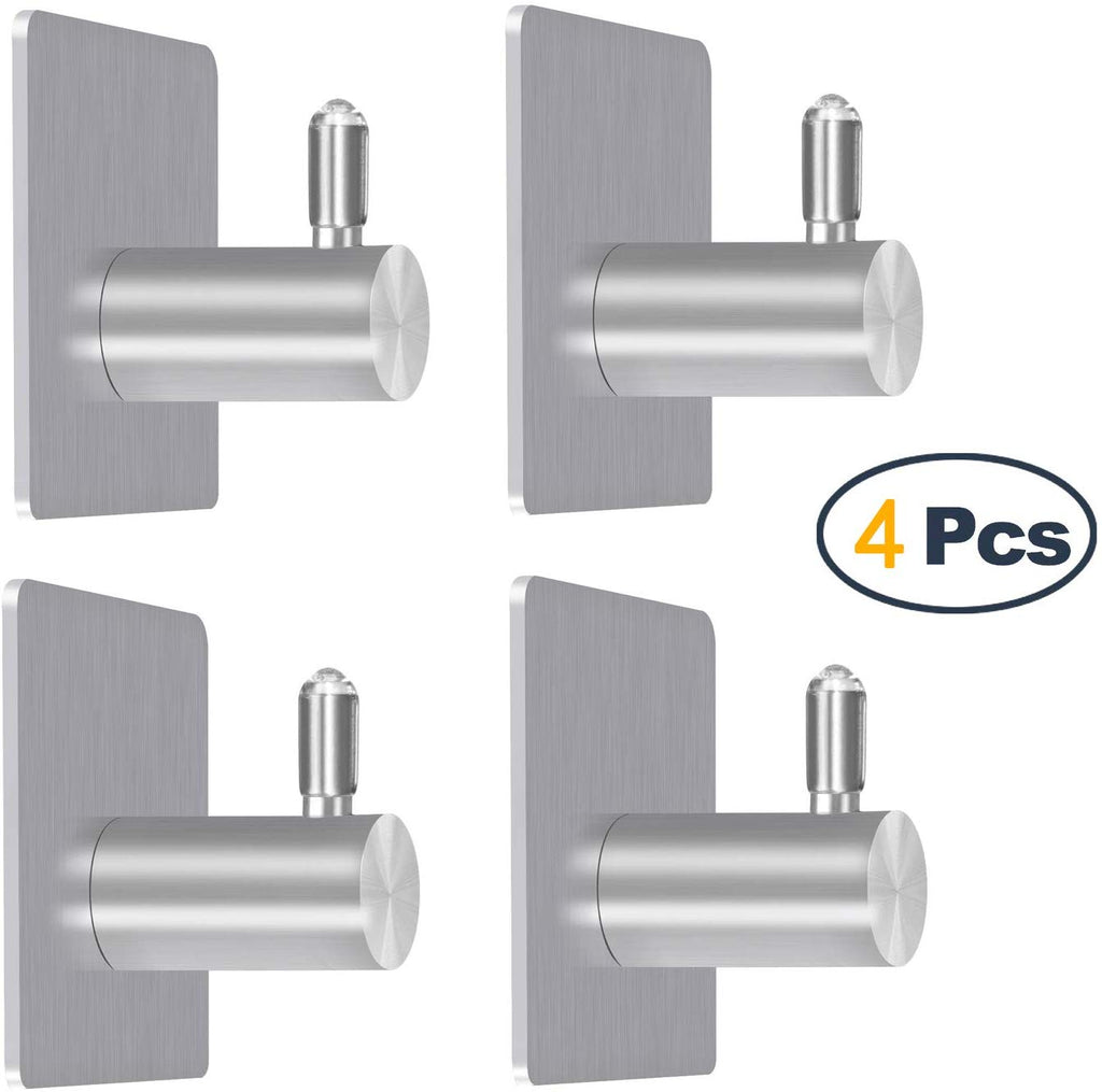 Stainless Steel 3M Removable Wall Hooks Only $5.49