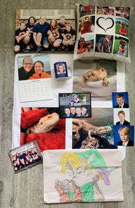 Customised gift ideas for the whole family with ASDA Photo