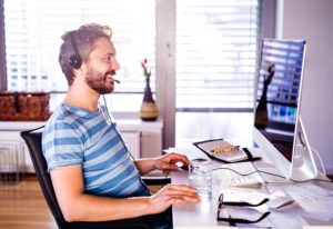 Some employees may find that they are suddenly working from home more than ever because of social distancing