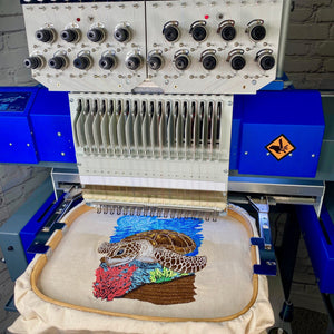 "After teaching hundreds of embroidery events across the world, and given my deep roots in the commercial industry, one of the most common question of those looking to start or running an embroidery business usually is ""which embroidery machine is..."