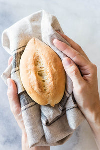 Pin this recipe or leave a comment: How to Make Bolillos (Mexican Rolls) on Green Healthy Cooking