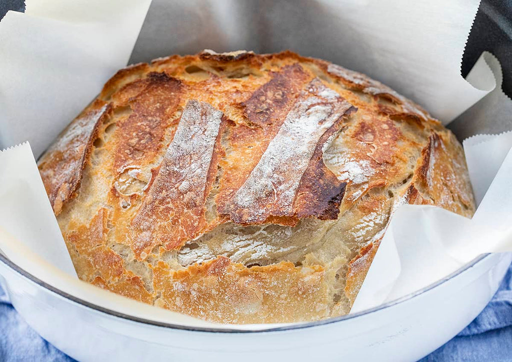 Simple Sourdough Bread {Using Starter!}