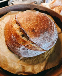 This is a basic sourdough bread that is pretty simple, but keep in mind good sourdough takes time