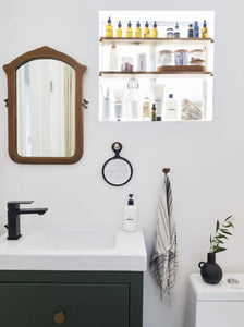 Emily Bowser, back with that bathroom I promised you in my bedroom reveal last week (catch up: intro here, makeover here)