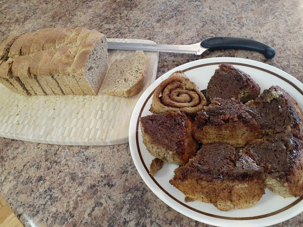 Recipe Friday: Bread with a Side of Cinnamon Roll