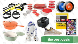 Wednesday's Best Deals: Cuisinart Cast Iron Gold Box, Pyrex, Sphero R2-D2, Adidas, and More