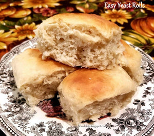 Easy Homemade Yeast Rolls