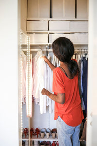 8 space-saving closet storage hacks to help you stay clutter-free, mama