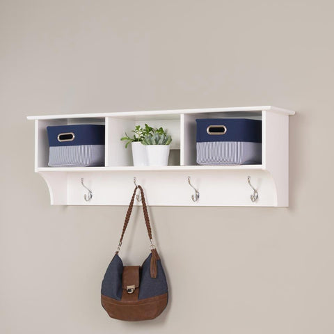 Best White Shelf With Hooks