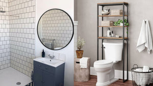 11 genius ways to make your tiny bathroom feel bigger