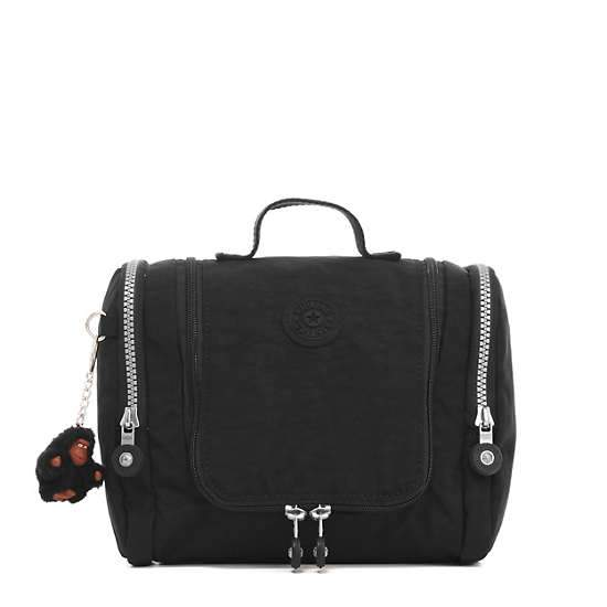 Kipling Connie Hanging Toiletry Bag - Black