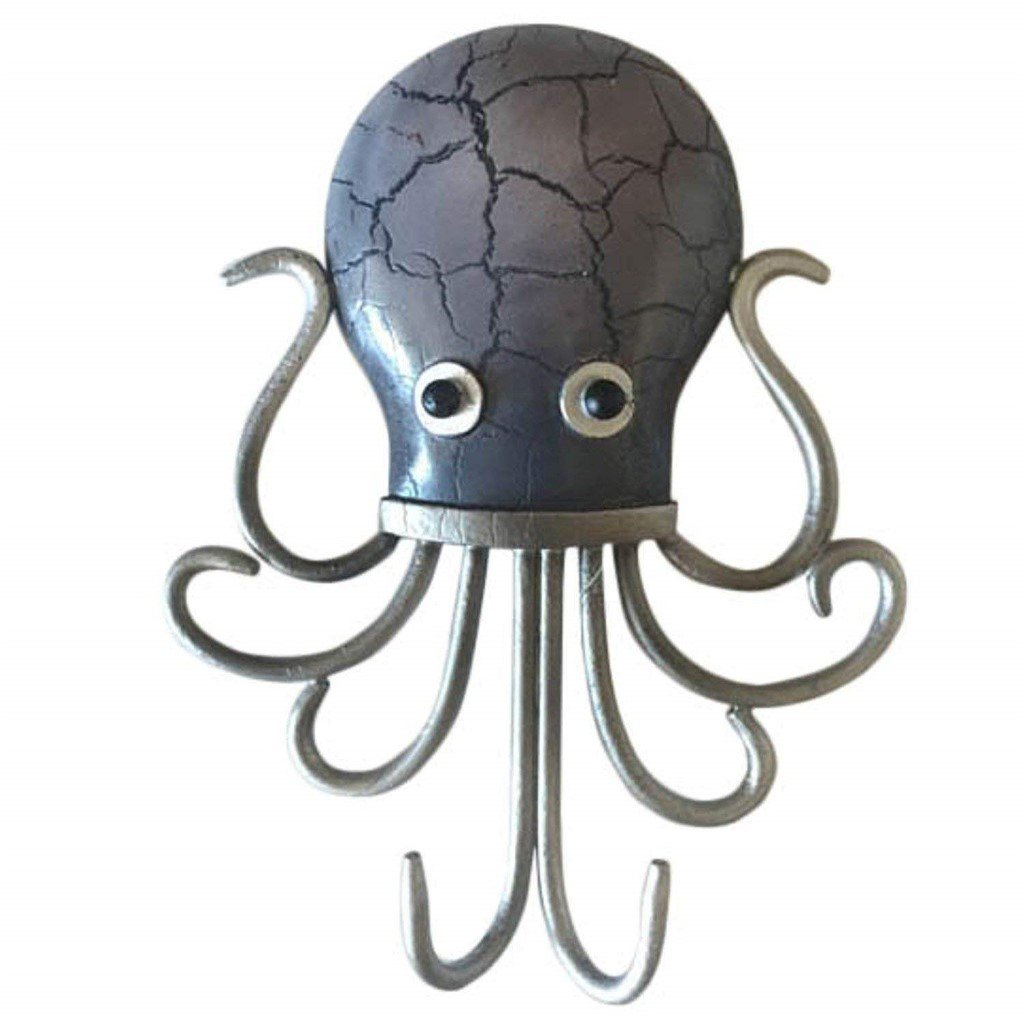 Octopus Double Wall Hook Decor