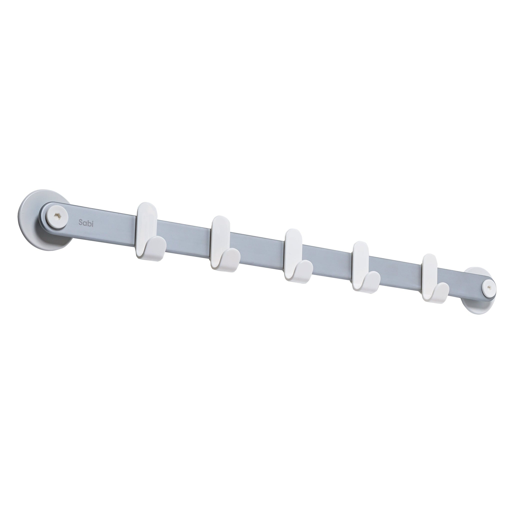 Sabi Shelf Hooks, 5 - White