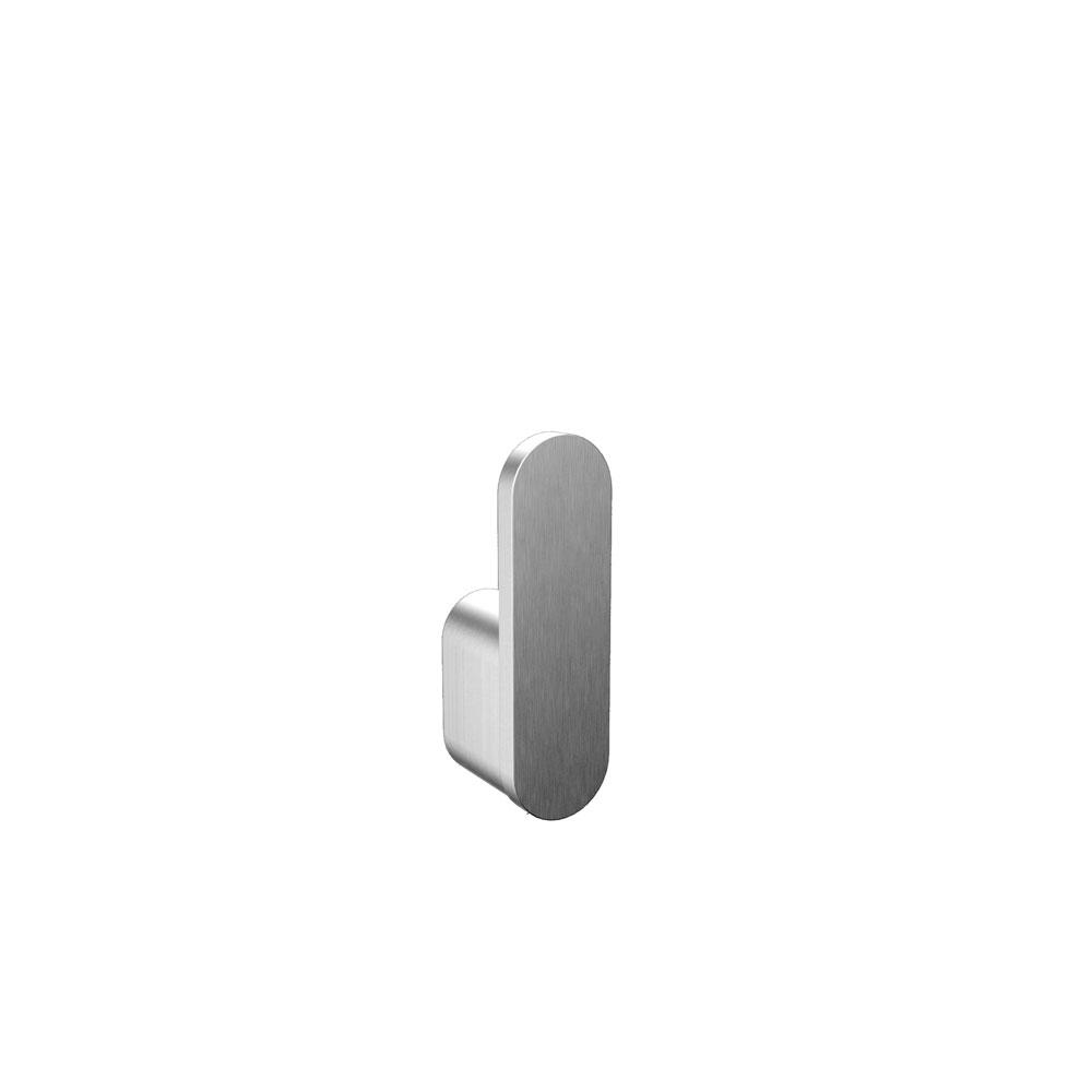 Flow Towel Hook, Brushed Nickel, Volkano Series