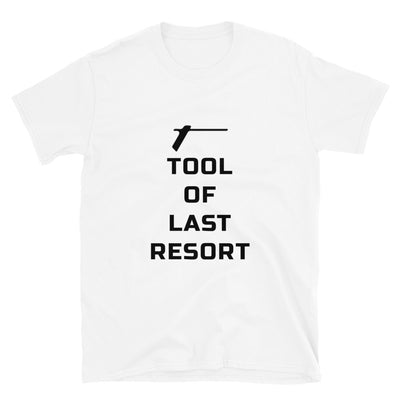 TRAINED READY ARMED BP-TOLR-O Short-Sleeve Unisex T-Shirt