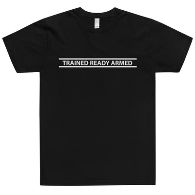 TRAINED READY ARMED-WT BARRED T-Shirt