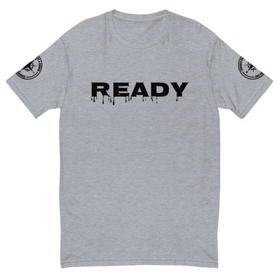 TRAINED READY ARMED (READY-B- 360SL -BP-524) MEN'S PREMIUM FITTED Short Sleeve T-shirt