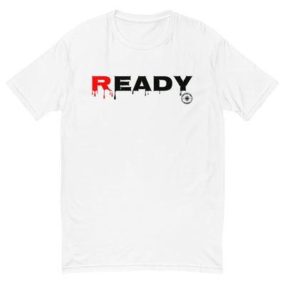 TRAINED READY ARMED (READY BL-360) MEN'S FITTED Short Sleeve T-shirt