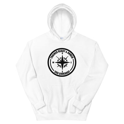 Trained Ready Armed 306 Cir-BT Unisex Hoodie