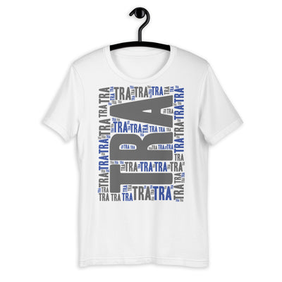 JUST TRA BLU-GR-1 Short-Sleeve Unisex T-Shirt