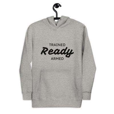 TRAINED READY ARMED 3W-BP-523 Unisex Hoodie