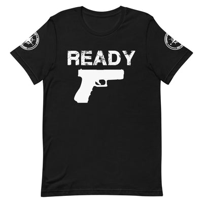 TRAINED READY ARMED GK-W Short-Sleeve Unisex T-Shirt