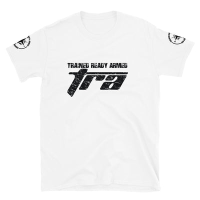 TRAINED READY ARMED 2.0BP VINTAGE Series Short-Sleeve Unisex T-Shirt