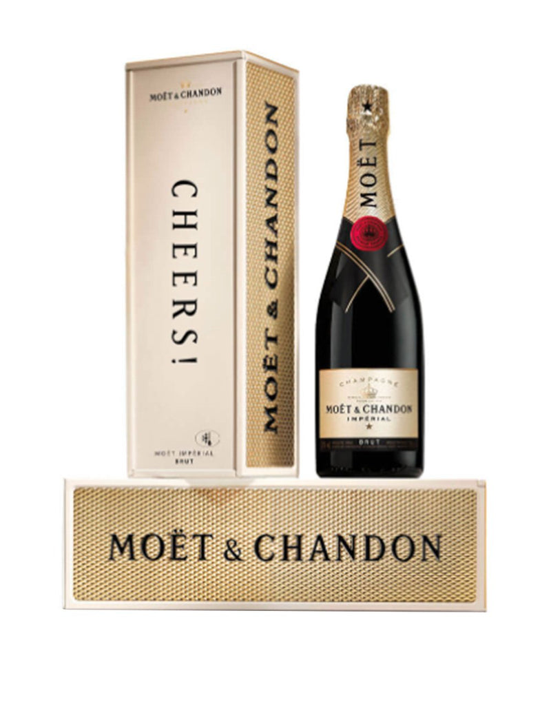 "Moët & Chandon Impérial Brut with ""Cheers"" Gift Box"