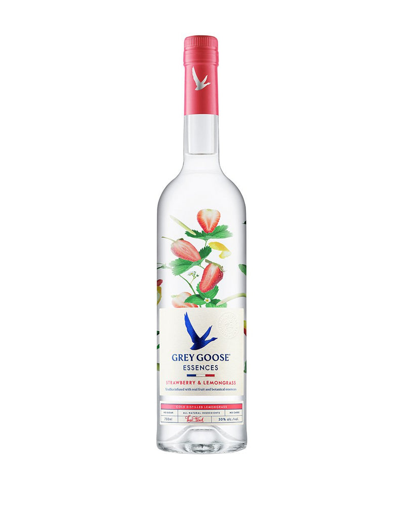 Grey Goose Essences Strawberry and Lemongrass