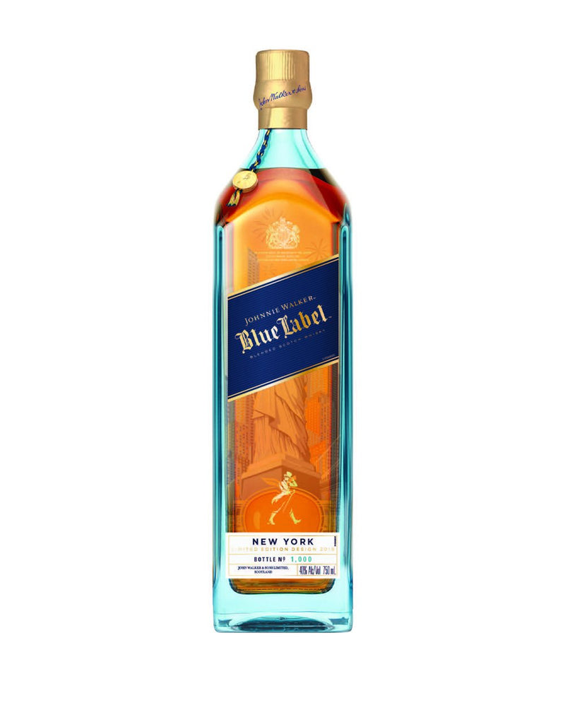 Johnnie Walker Blue Label Blended Scotch Whisky, New York Edition