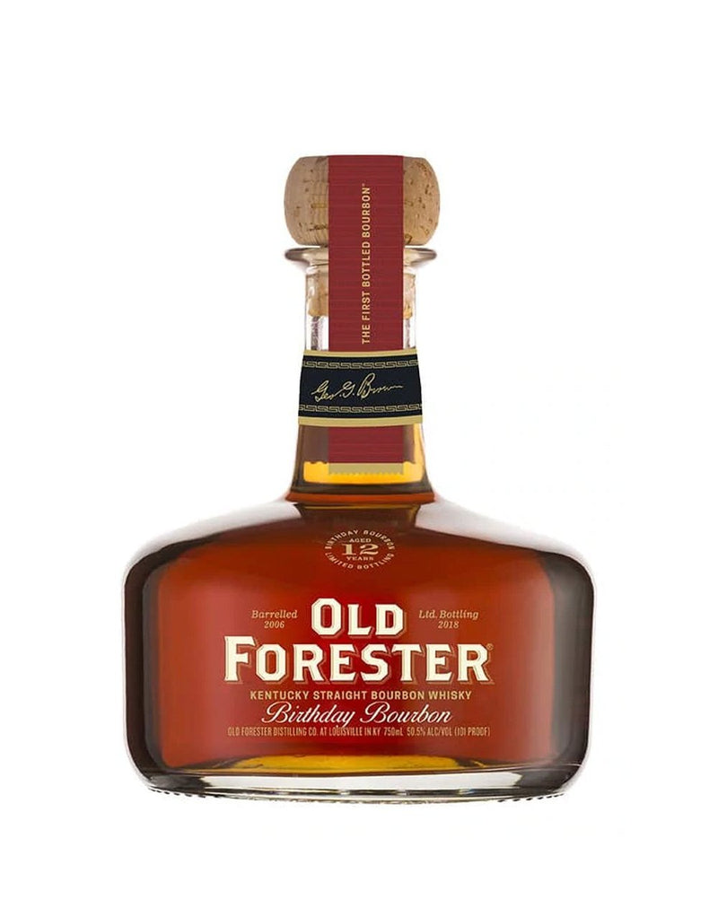 Old Forester Birthday Bourbon 2018 Limited Edition