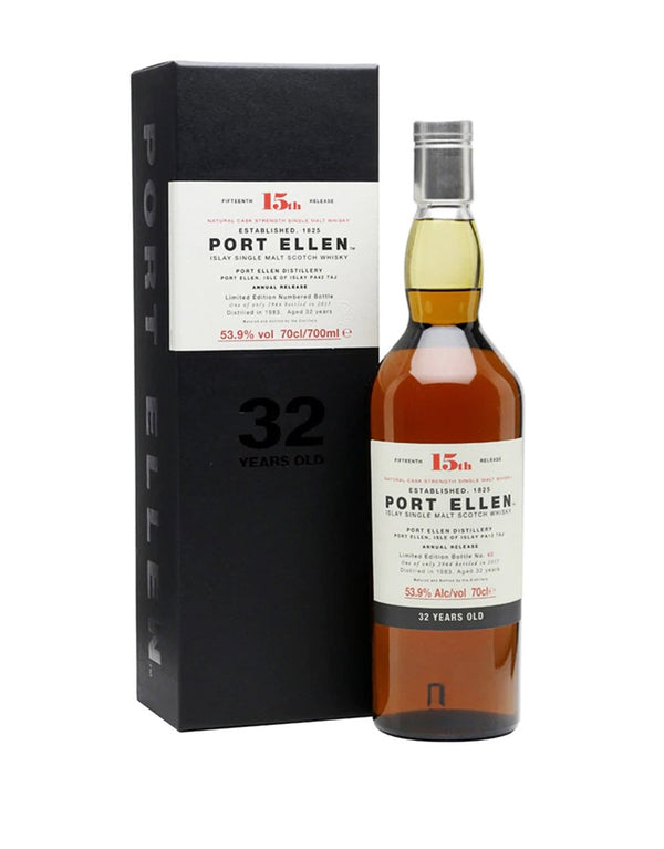 Port Ellen 12th Release 32 Year Old Single Malt Scotch Whisky