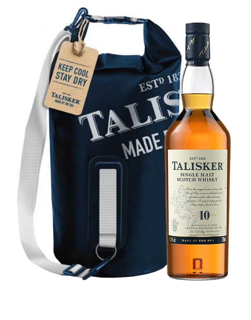 Talisker 10 Year Old with Dry Bag