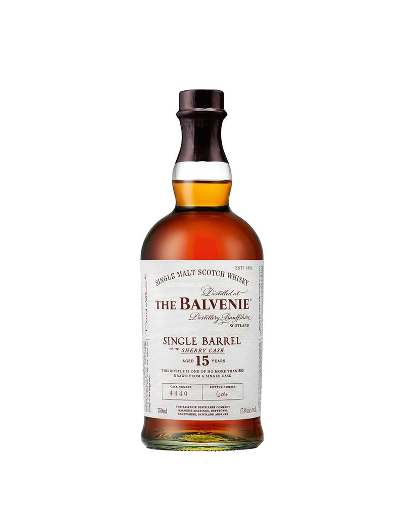 The Balvenie Single Barrel 15 – Aged 15 Years