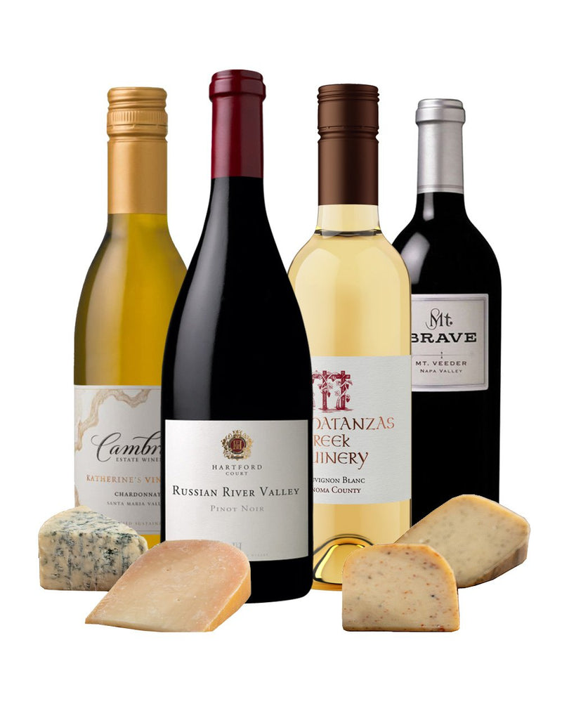 Ultimate California Wine & Cheese Collection