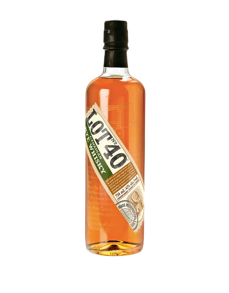 Lot No. 40 Rye Whisky
