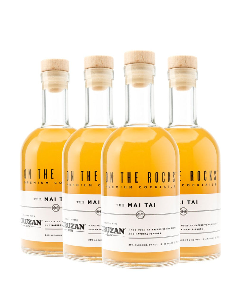 On The Rocks Cocktails Cruzan Mai Tai (4 Pack)