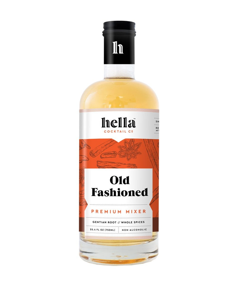 Hella Cocktail Old Fashioned Cocktail Syrup